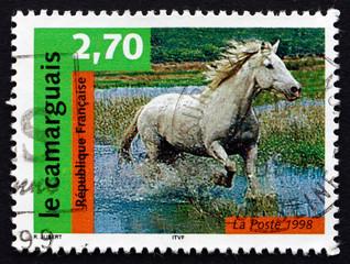 Postage stamp France 1998 Camargue, Horse