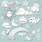 Celestial and Weather Icons