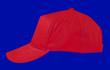 Sports red cap
