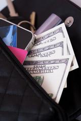 Open women's bag