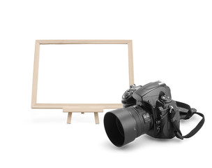 White board with digital camera
