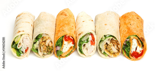 Plexiglas Snack Wrap Sandwiches