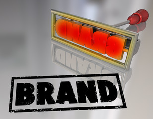 Brand Word Branding Iron Marketing Product Ownership