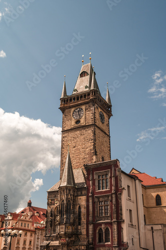 Prague Clock Tower at the Old Town Square