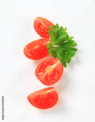 Tomato quarters