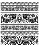 Floral ornament elements and embellishments poster