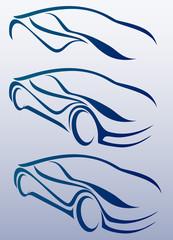 3 Alternatifli oto logosu
