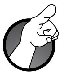 Hand indication