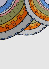 Color roulette wallpaper