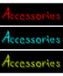 Three card accessories