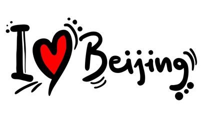 Love beijing