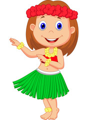 Little Hula Girl