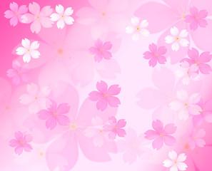 花びらバックグラウンド