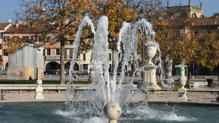 Fountain in Padua, Italy