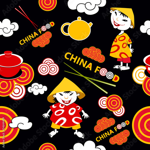 background china food