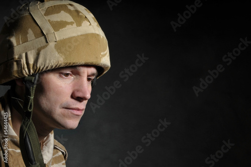 British Soldier Suffering With PTSD