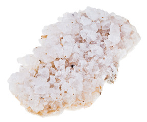 crust of sea salt from Dead Sea coast