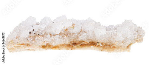 crust of sea salt from Dead Sea