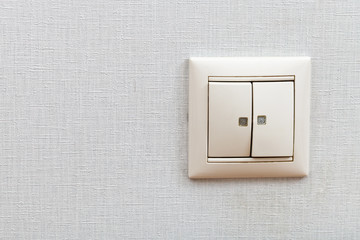 Wall-mounted light switch