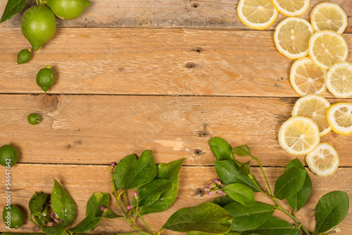 Lemon aromatic