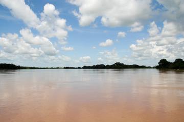 Orinoco river from a boat (Venezuela)