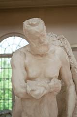 statue de Victor hugo par Rodin