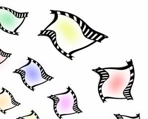 pellicola fotografica con colori
