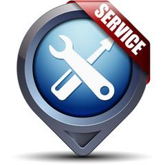 Service pointer