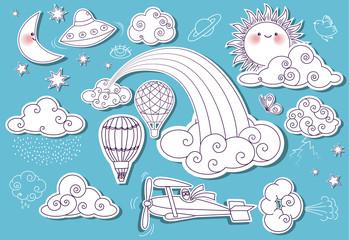 Doodle Elements: Sky