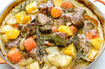 pork and orange casserole