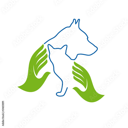 Vector Logo Veterinary
