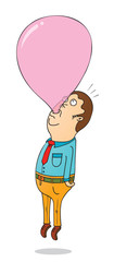 helium bubble gum