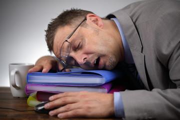 Sleeping on the job