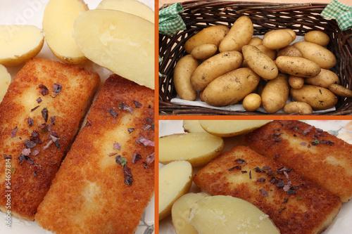 Cabillaud aux pommes de terre nouvelles