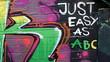 Fototapete Kunst - Abstrakt - Graffiti