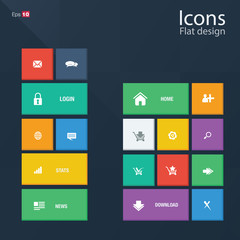 Icon concepts in metro style