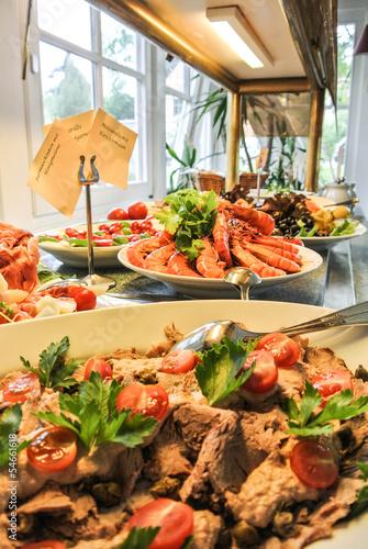 In de dag Buffet, Bar Mediterranes Buffet