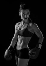 femme boxeur