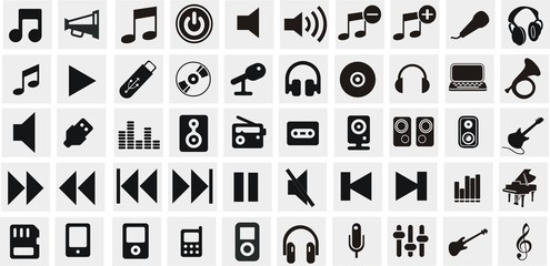 50 boutons musique