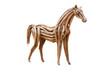 Wood Horse, Isolated