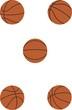 Постер, плакат: Баскетбольный мяч