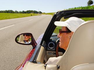 Cabrio Fahrer - Cabriolet Driver