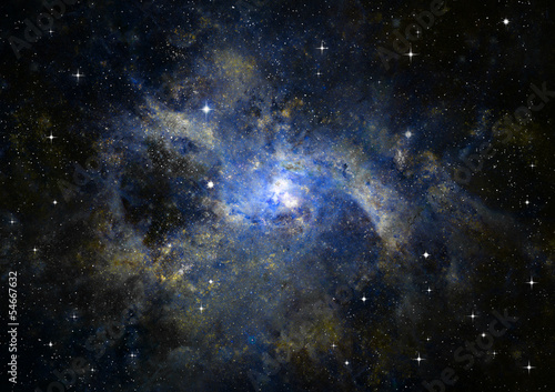 galaxy-in-a-free-space