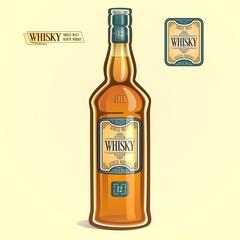 Виски в бутылке
