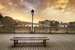 Leinwanddruck Bild - Pont des arts Paris