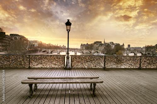 Fototapety, obrazy : Pont des arts Paris