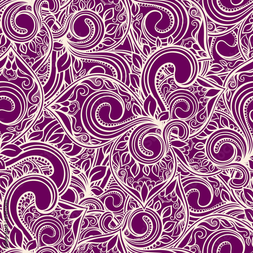 purple natural abstract pattern