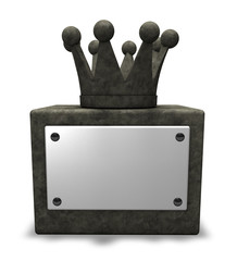 stone crown