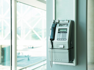 Modern payphone