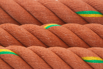 Closeup of Manila Nylon Ropes use for background